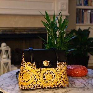 Authentic Versace crossbody sling bag